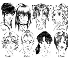 Supporting Characters by manic-goose