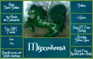 RT Myxedema by RoseThornStables