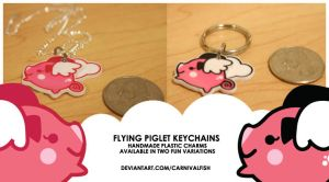 Flying Piglets For Sale by carnivalfish