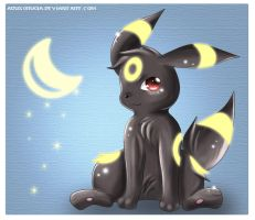 Umbreon by Deruuyo