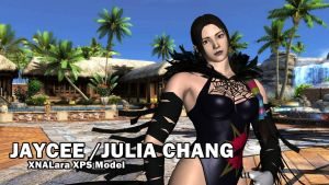 Jaycee / Julia Chang |Tekken | Black outfit MOD by Changinformatica