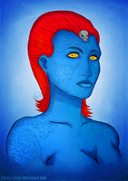 Mystique by bloody-savage