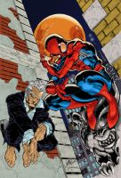 J Scott Campbell_Spiderman by smuff100
