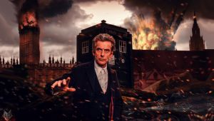 12th Doctor. by spidermonkey23