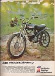 Vintage Motorcycle Ad by LogicalXStock
