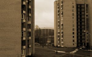 Living In The Boxes by Baltagalvis