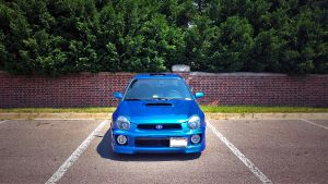 Really, another WRX shot!? by melodicnitemare