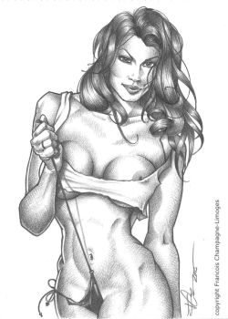 Pinup by FChampagne-Limoges