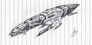 'Dreadlord' Battleship WIP by Inquisitor-No-7