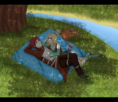 Christmas gift- picnic by Daashe