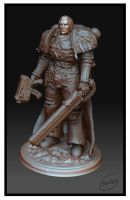 warhammer space marine 3d by PabelBilly
