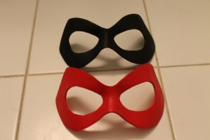 Harley Quinn mask examples by ThisIsMyLurkerName