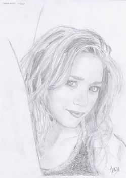 Mary-Kate Olsen by crayon2papier