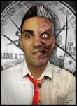Two-Face by maddartist83