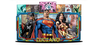 Justice League - Sign by Luciano246BR