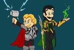 Thor bros by Omis-11