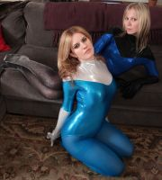 Jacquelyn and Serena: Leotard Love # 6 by sleeperkid