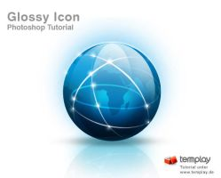 Glossy Icon Tutorial by templay-team