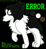 Error Reference Sheet by Mcingake