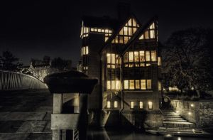 Lights On in Jerwood Library by Pipera