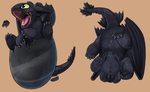 .:baby Toothless:. by Patsuko