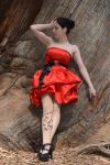 Red Satin 21 by Anariel-Stock