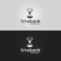Timebank Warrington  - Logotype (Hourglass v2) by patrickzachar