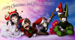 Happy 2016 by Hevimell