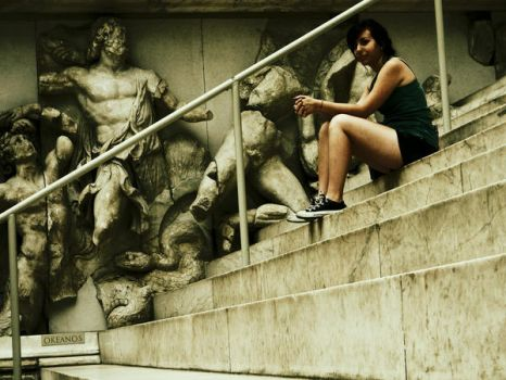 At the museum by Here-is-MaryLou