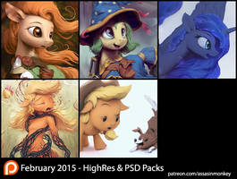 February Patron Packs - HighRes by AssasinMonkey