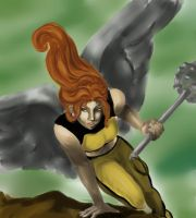 Hawkgirl by Tombbabe