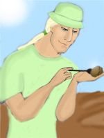 Lucius as an archaeologist. by Lucius007