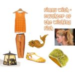 Finny Wish Polyvore by allyvania88