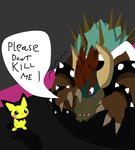 Melee Battle of Death Giga Bowser vs Pichu by CaptnColourman