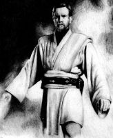 Obi-Wan Kenobi by CurtisWalkerWood