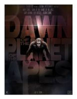 Dawn Of The Planet Of The Apes by AndyFairhurst