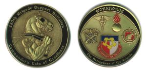Workhorse Army Coin by Jay-Shell