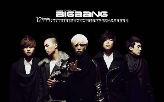 Big Bang - December Wallpaper by Dextera