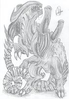 Ungulate Xeno...? by SweetyXenomorph