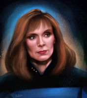 Star Trek: doctor Crusher by Spiritius
