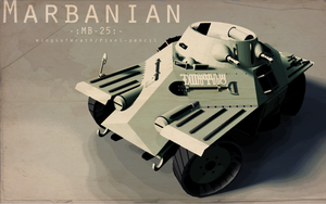 Marbanian MB-25 by Pixel-pencil