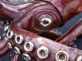A 'Giant' giant squid bronze by bronze4u