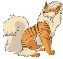 ...pogheys... Arcanine by Rainbow-Cemetery