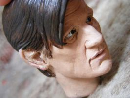 Matt Smith Sculpt 2 by frasierdalek