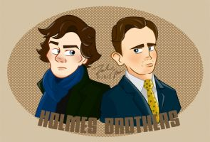 Holmes Brothers by PieIsADessert