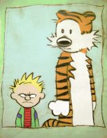 Calvin and Hobbs 1 by Bloody-Passion