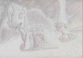 1 - Chasing her down by UnlicensedBrony