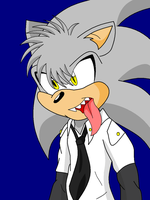 Old Picture gift:  Afoid The Hedgehog by BlueRoseAngel15