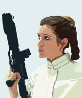 Leia by JasonCasteel
