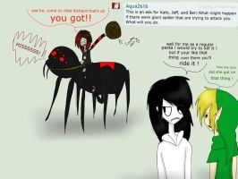Question 5 SPIDER by KillingKate1